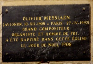 x.1.Plaque Messiaen