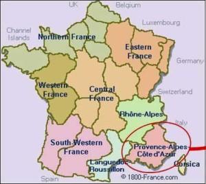 Carte France-paca - Copie