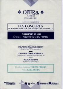 x.0.Orchestre Philharmonique de Marseille concert 12 mai 2019